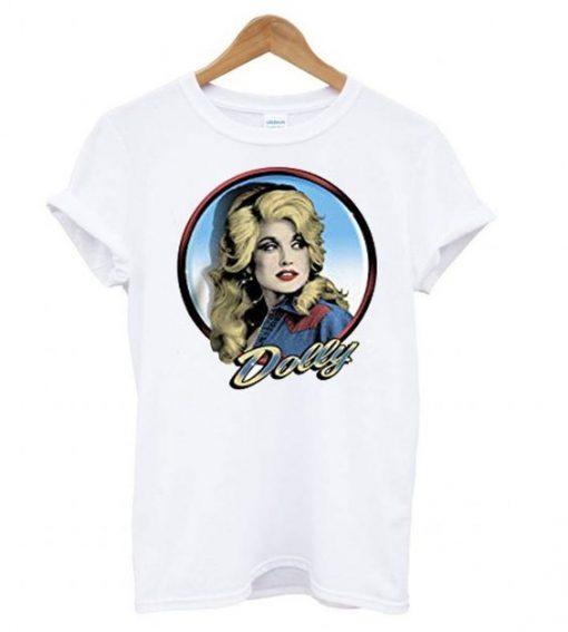 Dolly Parton – Silver Loop T shirt ZNF08