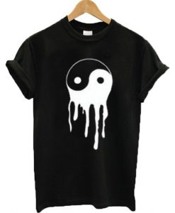 Dripping Yin Yang T-shirt ZNF08