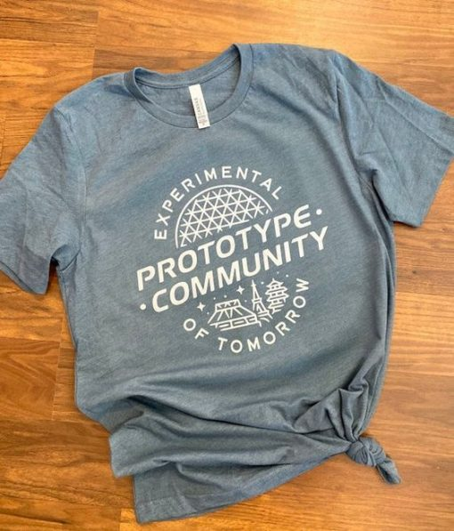 EPCOT inspired T-shirt ZNF08