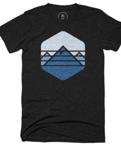 Everest Mountain T-shirt ZNF08