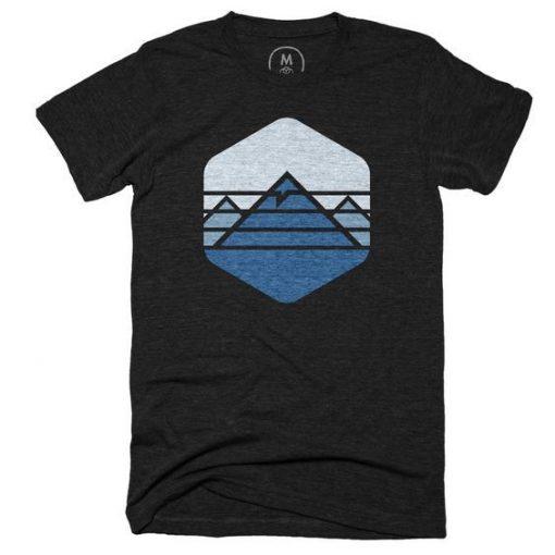 Everest Mountain T-shirt ZNF08