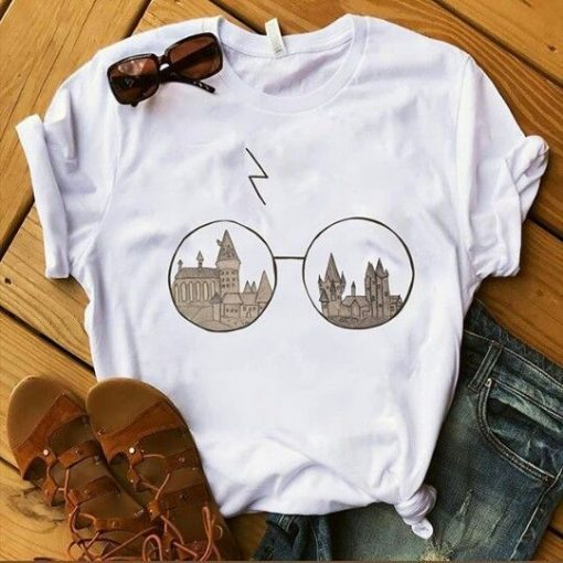 Eye Glasses Harry Potter T-shirt ZNF08