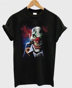 creepy joker claws t-shirt ZNF08