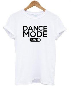 dance mode on t-shirt ZNF08