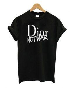 dior not war t-shirt ZNF08