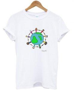 dismantle world t-shirt ZNF08