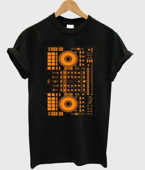 dj orange t-shirt ZNF08