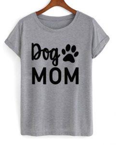 dog mom t-shirt ZNF08