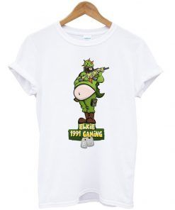elkie 1991 gaming t-shirt ZNF08