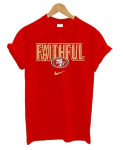 Faithful San Francisco 49ers T shirt ZNF08