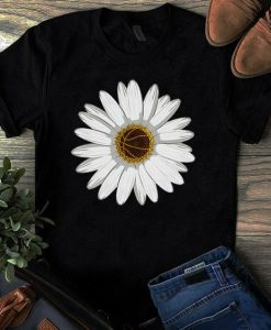 Flower White T-shirt ZNF08