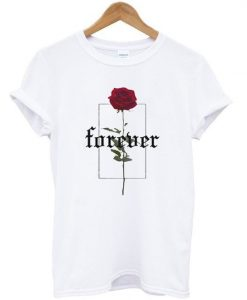 Forever Rose Printed T-Shirt ZNF08