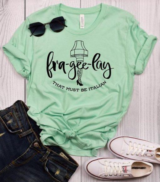 Fra Gee Lay Design t shirt ZNF08