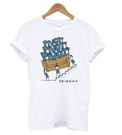 Friends Tv Show Pivot T shirt ZNF08