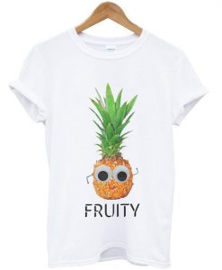 Fruity Pineapple Unisex Slogan T-Shirt ZNF08