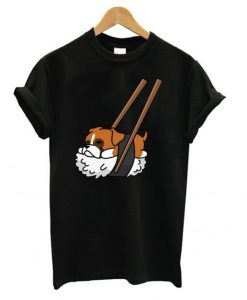 Funny Sushi Boxer T shirt ZNF08