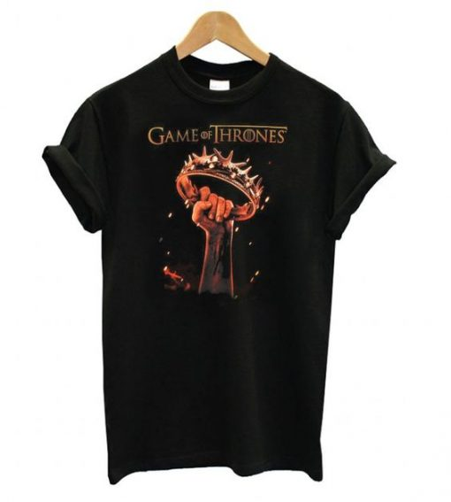 Game of Thrones Raised Crown T shirt ZNF08