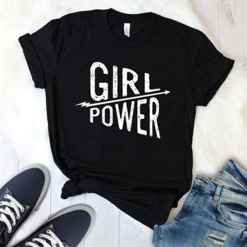Girl Power T Shirt ZNF08