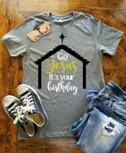 Go Jesus T- shirt ZNF08