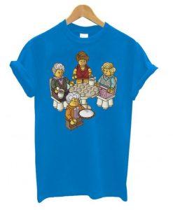 Golden Girls Blocks T shirt ZNF08