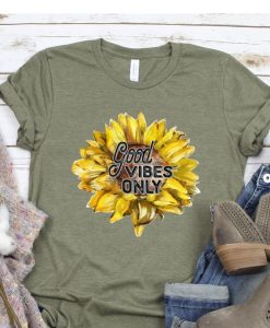 Good Vibes Only T-Shirt ZNF08