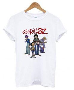 Gorillaz Band T shirt ZNF08