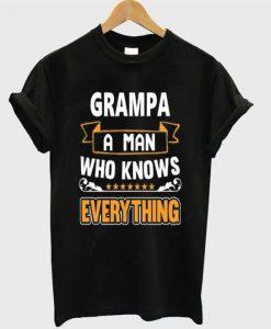 Grampa A Man Tshirt ZNF08