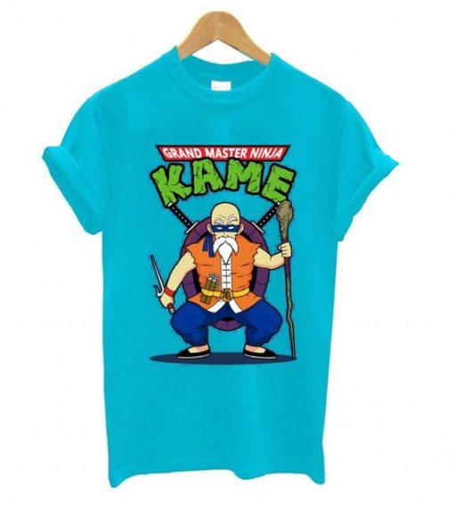 Grandmaster Ninja Kame T shirt ZNF08