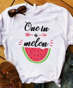 Graphic Watermelon Cute Sweet Fruit Short Sleeve Printed Top Tshirt ZNF08 - Copy