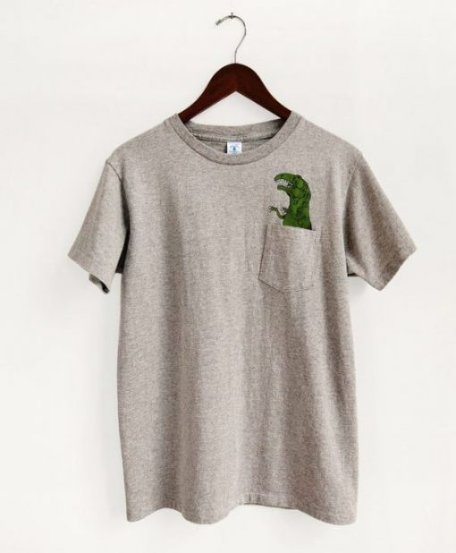 Grey Trex With Pocket T-Shirt ZNF08