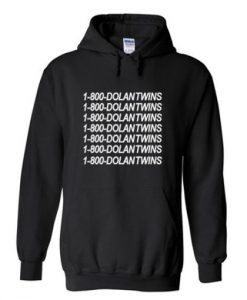 1 800 dolantwins hoodie THD
