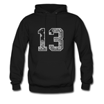 13 black bandana hoodie THD
