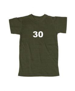 30 tshirt THD