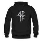 4pf rhine stone hoodie THD