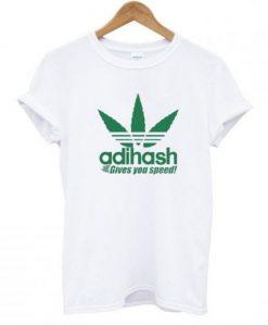 Adihash Rastafarian Gives You Speed T Shirt KM