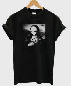 Alien Mona Lisa T shirt (KM)