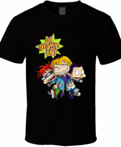All Grown Up Rugrats TV Series Animated T-Shirt KM