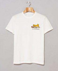 All I Do is Eat and Sleep Garfield T-Shirt KM