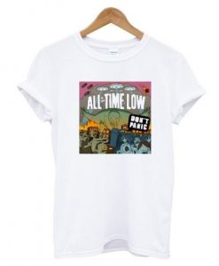 All Time Low Don't Panic T-Shirt KM