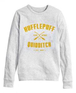 Hufflepuff Quidditch Sweatshirt - Copy