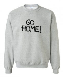 Jay-Z wears Surface To Air Go Home Sweatshirt