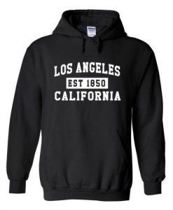 Los Angeles California Est 1850 Hoodie THD