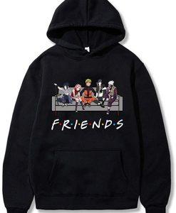 Naruto Friends NARUTO SASUKE hoodie THD