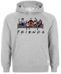 Naruto Friends hoodie THD