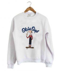 Vintage 1994 Olive Oyl Sweatshirt