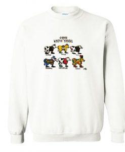 Vintage 90s Cows of LA Sweatshirt