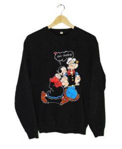 Vintage POPEYE And OLIVE OYL Sweatshirt