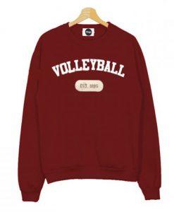 Volleyball est 1895 Sweatshirt
