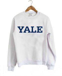 Yale University sweatshirt