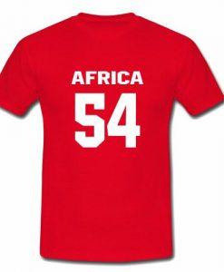 africa 54 tshirt